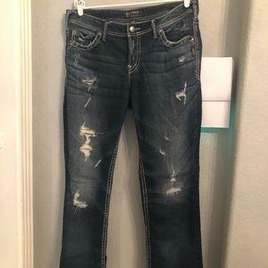 Silver jeans plus size 16